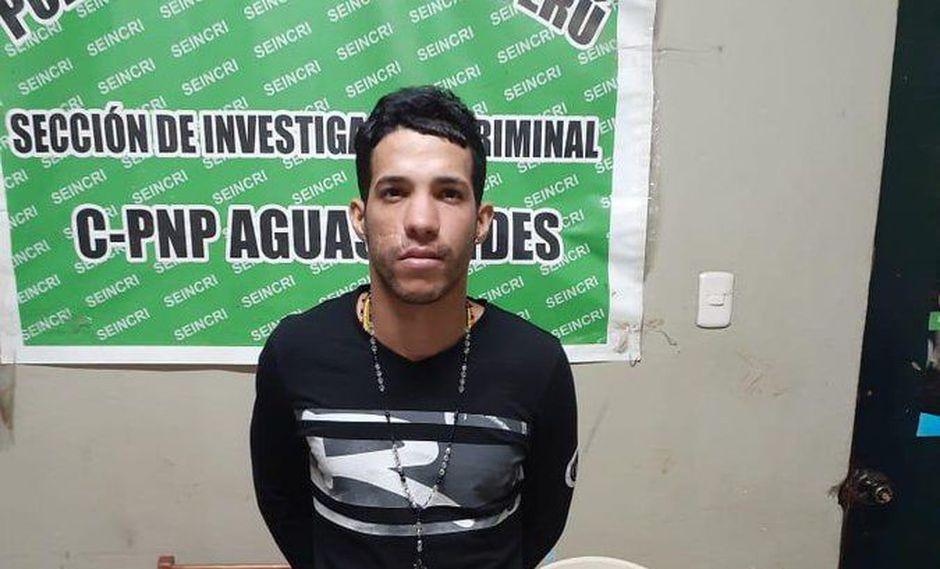 El extranjero fue traído a Lima desde Tumbes para ser investigado por su presunta participación en el asesinato y descuartizamiento. (Foto: PNP)