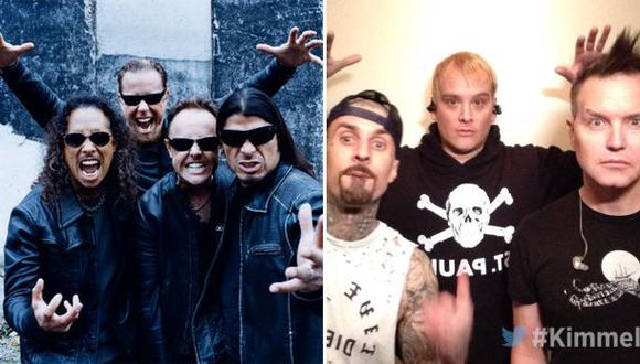 ¿Metallica con tonalidades mayores suena como Blink-182?