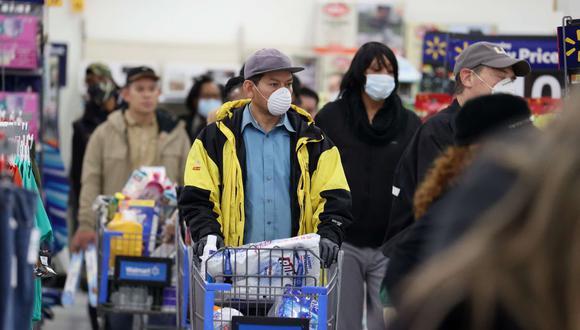 Los supermercados de Estados Unidos han tomado medidas ante la pandemia de coronavirus. (Foto: AFP)