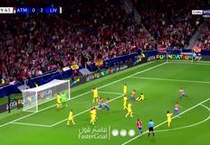 Atlético de Madrid vs. Liverpool: Antoine Griezmann anotó el gol del descuento en el Wanda Metropolitano |VIDEO