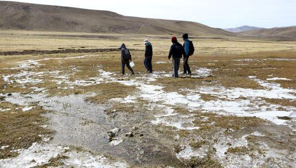 Tacna reportó la temperatura más baja en abril