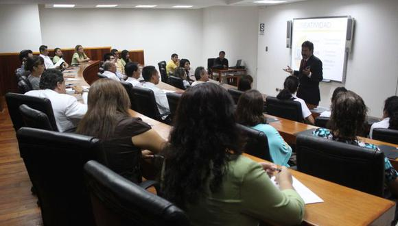 Existe interés por la especialización en gestión pública y la gestión de proyectos sociales. (Foto: GEC)