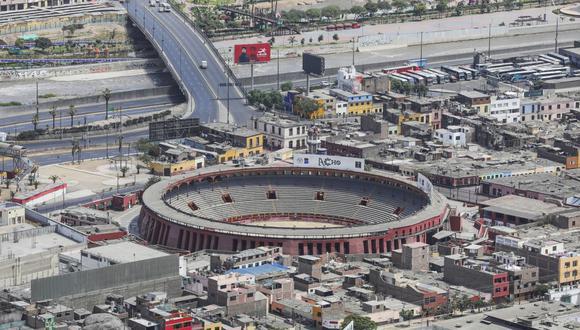La Plaza de Acho se convertirá en un albergue temporal para personas indigentes. (Municipalidad de Lima)