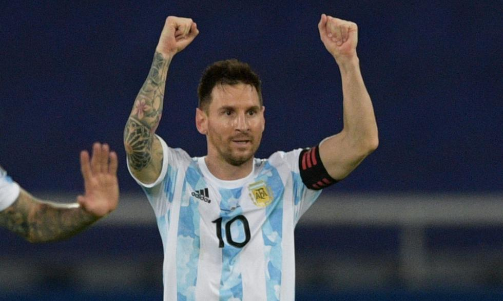 Argentina y Chile chocan en su primer partido de Copa América 2021 con Lionel Messi como la gran figura | Foto: AFP