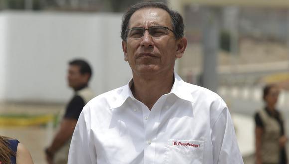 """Martín Vizcarra pidió """"dejar atrás"""" el uso de un poder del Estado para iniciar una """"persecución política"""". (Foto: Alonso Chero/ GEC)"""