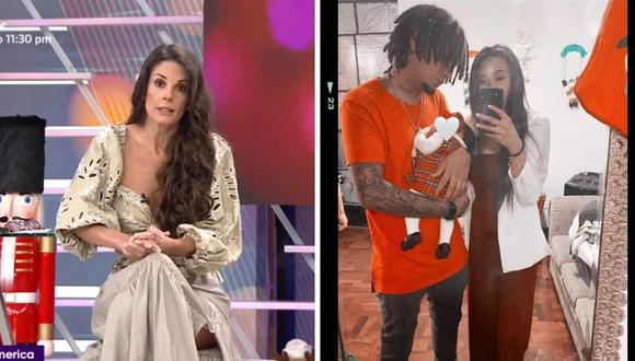 Rebeca Escribens  recomendó a Samahara Lobatón no retomar su relación con Jonathan Rojas 'Youna'. (Foto: Instagram / @sam-lobaton_klug / Captura América TV).
