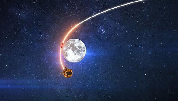 En fotos tomadas desde la Estación Interespacial, la luna se mostró como nunca se había visto antes. (Foto: Captura de pantalla)