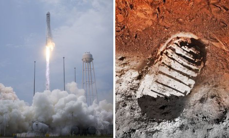 NASA: 45 años después del alunizaje, Marte es nuestra meta