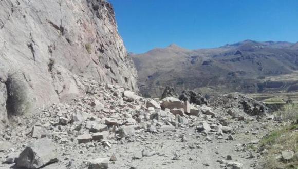 Arequipa: lluvia afectan a 7 distritos de provincia de Caylloma