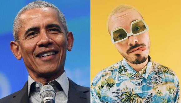 """Barack Obama incluye a """"Un día"""" en su lista de canciones favoritas. (Foto: AFP/@jbalvin)"""