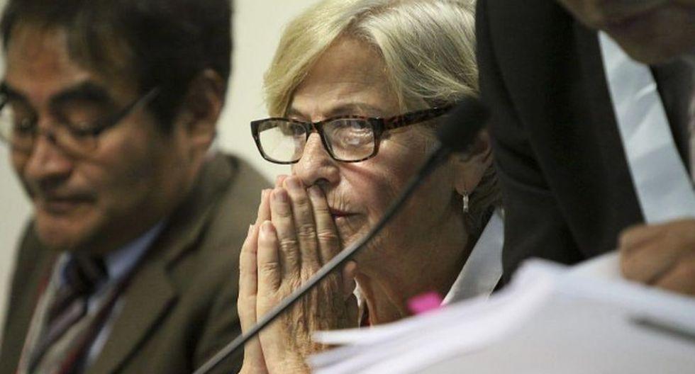 Susana Villarán cumple prisión preventiva por los aportes que efectuaron Odebrecht y OAS a la campaña del No y a la reelección municipal. (Foto: Hugo Pérez/GEC).