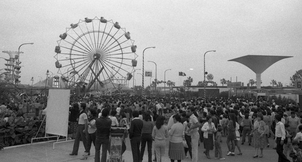 La Feria del Hogar fue, durante 37 años, el principal punto de diversión y comercio en Lima durante las Fiestas Patrias | Foto: Archivo Histórico El Comercio