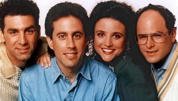"""Netflix obtuvo los derechos de """"Seinfeld"""" y emitirá la serie en octubre de 2021. (Foto: AFP)"""