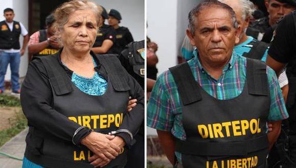 'Cojo Mame': sus papás, sus hermanas y su esposa detenidos