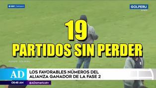 Alianza Lima: Los favorables números del cuadro 'blanquiazul' en la Liga 1