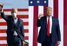 Obama se une a Biden en Michigan mientras Trump se centra en Pensilvania en la recta final de la campaña