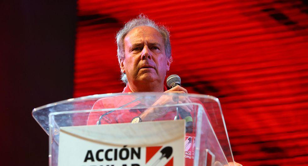 """Barnechea afirmó que con él, """"no habrá narcotraficantes"""" en la agrupación fundada por el ex mandatario Fernando Belaunde Terry. (Foto: Archivo El Comercio)"""