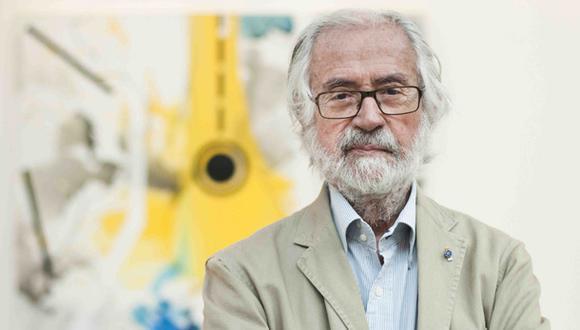 El maestro Jorge Piqueras formó parte de una de las generaciones más resaltantes de las artes plásticas en el Perú. (Foto: Leslie Searles / El Comercio)