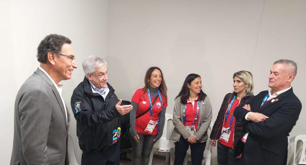 Piñera, Vizcarra: Embajada de Chile en Perú