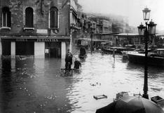 Cómo fue la devastadora 'acqua alta' que hundió a Venecia en 1966