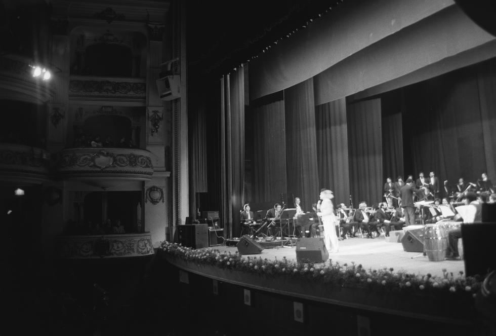 El Teatro Municipal de Lima es uno de los principales teatros de la ciudad de Lima. Se ubica en la cuarta cuadra del jirón Ica en pleno centro histórico de la capital del Perú. Esta imagen data de 1992. (Foto: archivo histórico El Comercio)