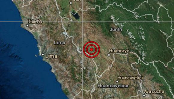En su reporte, el IGP detalló que el movimiento telúrico ocurrió este martes a la 01:51 horas, y su referencia fue a 27 km al suroeste de Jauja. (Foto: IGP)