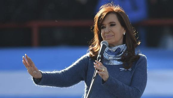 Cristina Kirchner comparece el lunes en causa por corrupción (Foto: AFP)