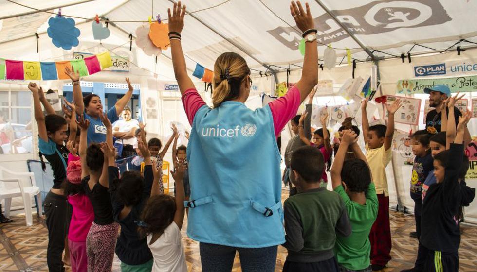 Campaña promueve buen recibimiento a niños y adolescentes venezolanos. (Foto: Difusión)