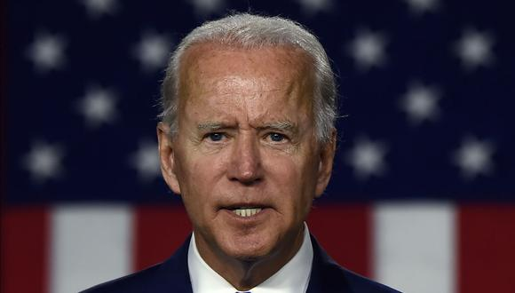 Joe Biden lidera la intención de voto para las elecciones del 3 de noviembre en Estados Unidos. (Foto: Olivier DOULIERY / AFP).