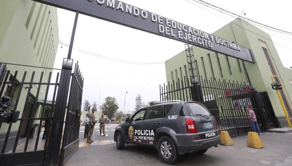 Varios agentes del Ejército y uno de la Policía fueron detenidos en el marco de una investigación por el presunto robo de combustible en la institución militar | Foto: El Comercio