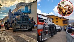 'Transformers' en Perú: Cusqueños se fotografiaron junto a impresionantes vehículos