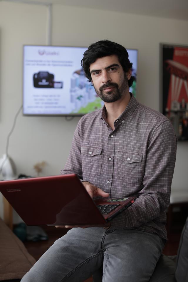 Él es Karim Rifai, fundador de Uaiki. (Foto: Anthony Niño de Guzmán)