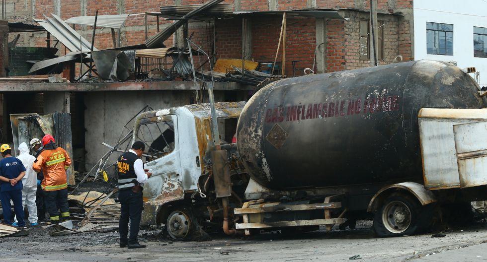 La cifra de fallecidos por el siniestro en Villa El Salvador aumentó a 26. (GEC)