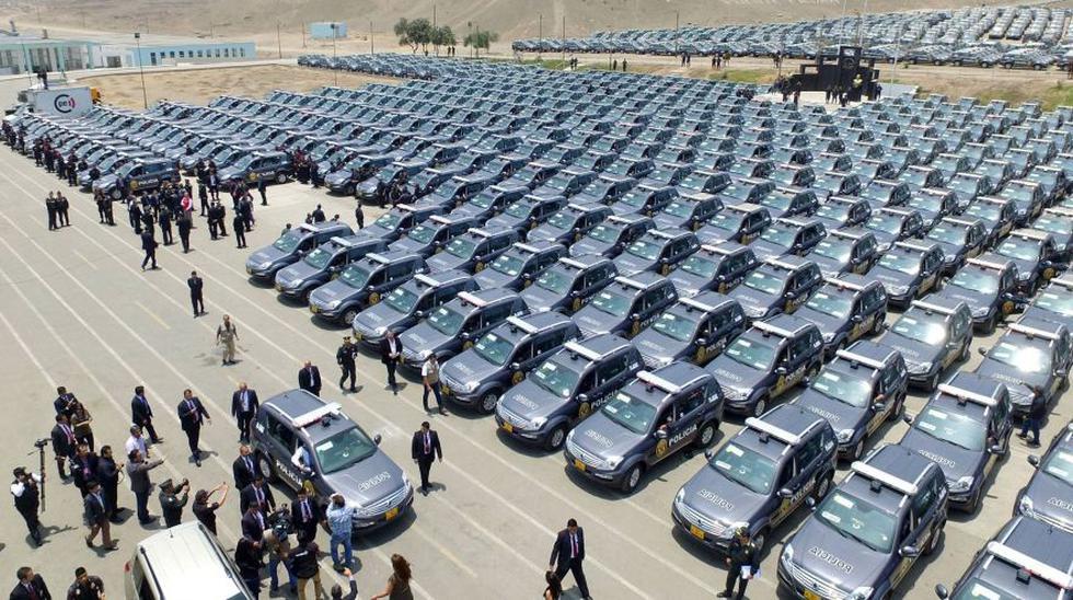 Mininter entregó 610 patrulleros coreanos a la PNP [FOTOS] - 1