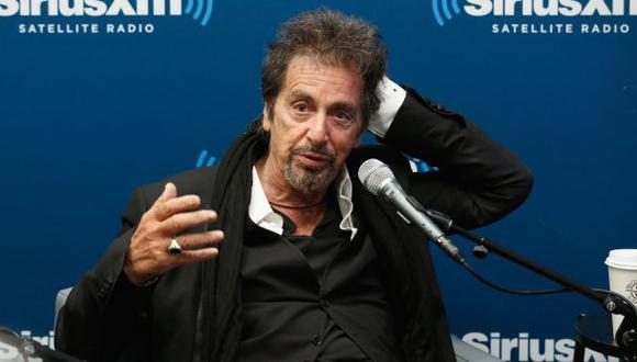 Al Pacino siente el peso de la edad, pero no piensa jubilarse