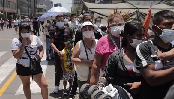 El Gobierno dio a conocer cuáles son las nueve provincias peruanas que se encuentran bajo riesgo extremo de contagios por COVID-19 | Foto: Leandro Britto / @photo.gec / Referencial