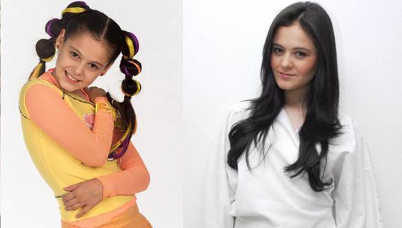 """Allison Lozz comenzó su carrera a los 10 años como participante de la primera edición de """"Código F.A.M.A."""", un reality show musical producido por Televisa para captar talentos infantiles (Foto: Televisa / Allison Lozz)"""
