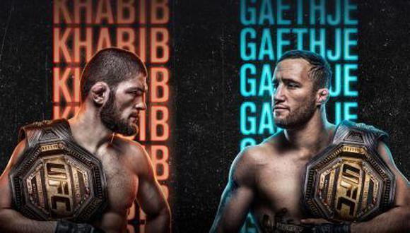 UFC 254 Cómo ver Khabib vs. Gaethje: horario, cartelera, peleas y canales de TV