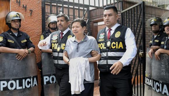 El ciudadano chino Yan Ruzhong fue arrestado en un inmueble de San Borja, donde funcionaba una de sus empresas de fachada, a través de la cual exportaba el oro ilegal (Foto: Miguel Yovera)