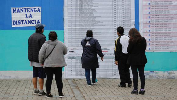 La ONPE presentará resultados oficiales desde las 11:30 de la noche. (Foto: César Campos/GEC)
