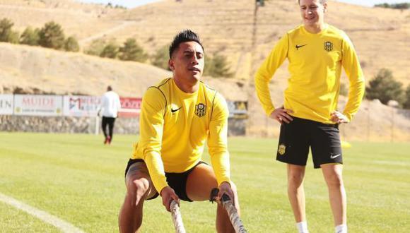 Christian Cueva afronta su tercera experiencia en el fútbol europeo tras su paso por Rayo Vallecano y Krasnodar. (Foto: Yeni Malatyaspor)