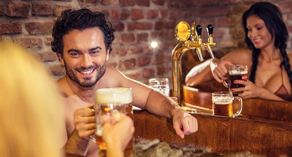Toma un relajante baño de cerveza en el Beer Spa de Praga - 1