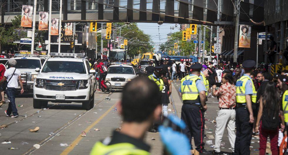 Toronto Raptors: Tiroteo en celebración del campeón de la NBA deja dos heridos graves. (Reuters).
