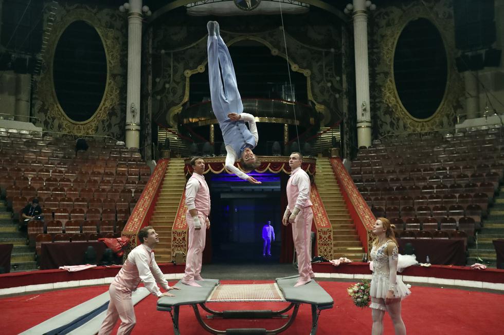 El Nikulin Circus está ubicado en el Boulevard de las Flores, a unos 15 minutos del centro de Moscú. (Foto: Rolly Reyna)