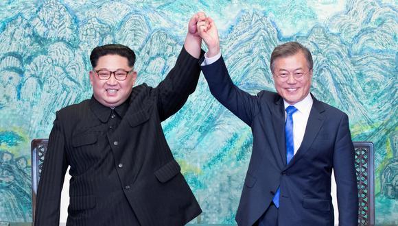 Las dos Coreas se comprometen a trabajar por la desnuclearización