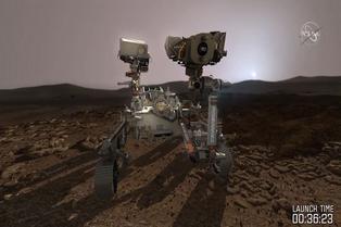 Mars 2020 verifica sus sensores para el crítico descenso a Marte