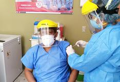 Lambayeque: cerca de 4 mil servidores de salud recibieron segunda dosis de vacuna contra el COVID-19