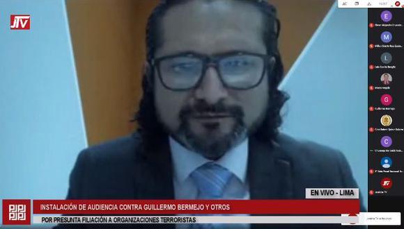 Bermejo también rechazó acogerse a la terminación anticipada, con lo cual se pasó a la etapa de medios de prueba. (Foto: Justicia TV)