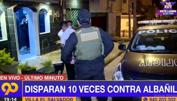 Los peritos de la Policía llegaron a la obra de construcción para recoger la versión de los testigos. (Latina)