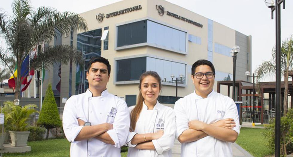 Carlos Mazuelos, Natalia Montúfar y Alejandro Quijandría son tres de los 12 estudiantes de la USIL que han quedado varados en Disney tras viajar por un programa de intercambio. Los jóvenes reclaman una mejor gestión de la institución frente a sus casos. (USIL)